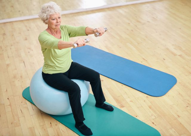 physical activity after 50
