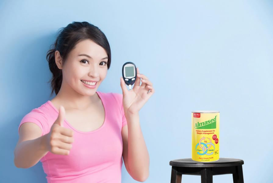 Diet Diabeties Girl Thumbs Up