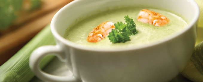 creamy-leek-soup-with-shrimp